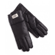 Перчатки UGG Leather Black Gloves