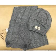 Набор шапка и шарф UGG Australia Серый