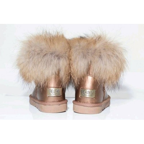 UGG MINI RACCOON GOLD (Н499)