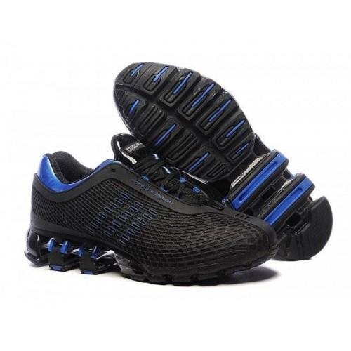 Кроссовки Adidas Porsche Design IV Rubber Black Blue (О-250)