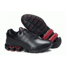 Кроссовки Adidas Porsche Design IV Leather Black Red (О-213)