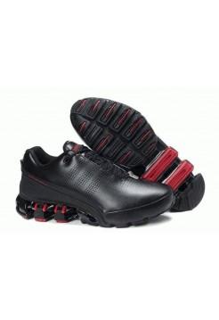 Кроссовки Adidas Porsche Design IV Leather Black Red (О-213)