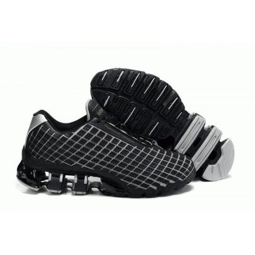 Кроссовки Adidas Porsche Design V Rubber Square Black Grey (О-321)