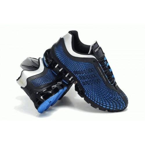Кроссовки Adidas Porsche Design IV Rubber Blue Black (О-327)