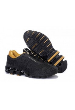 Кроссовки Adidas Porsche Design IV Rubber Black Gold (O128)