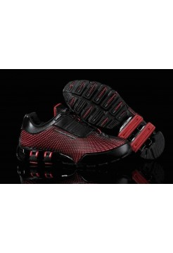 Кроссовки Adidas Porsche Design VI Rubber Black Red L (О-217)