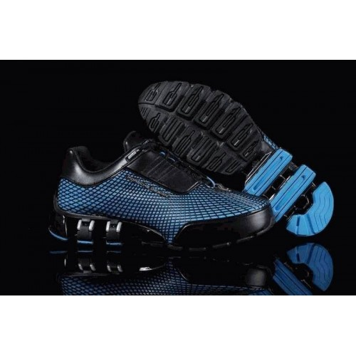 Кроссовки Adidas Porsche Design VI Rubber Black Blue L (О-211)