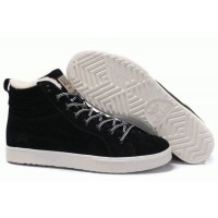 Кроссовки Adidas Ransom Fur Black Suede (ОЕ153)