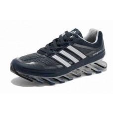 Кроссовки Adidas Springblade Сине-серый (О-329)