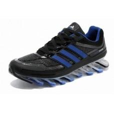 Кроссовки Adidas Springblade Черно-синий (OW-251)