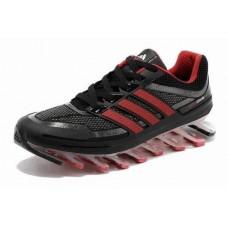 Кроссовки Adidas Springblade Черно-красный (О-352)