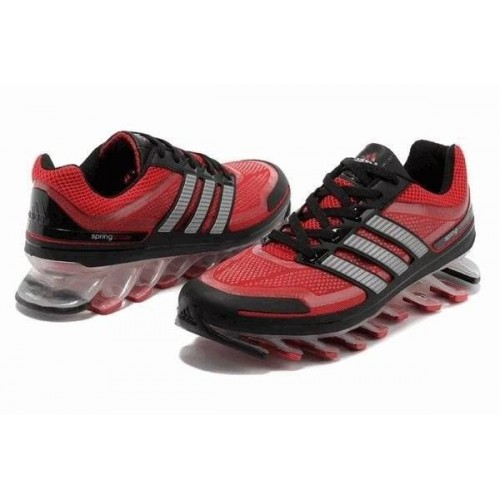 Кроссовки Adidas Springblade Красно-серый (О-271)