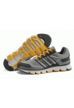 Кроссовки Adidas ClimaCool 2014 Серый с желтым (О-276)