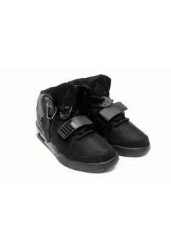 Кроссовки Nike Air Yeezy 2 All Black