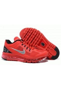 Кроссовки Nike Air Max 2013 Красные (О-733)