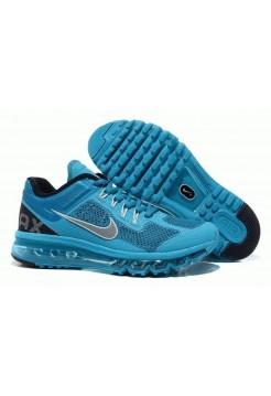 Кроссовки Nike Air Max 2013 Голубые (О-677)
