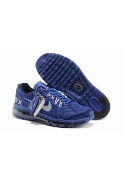 Кроссовки Nike Air Max 2013 GL Синие (О-842)
