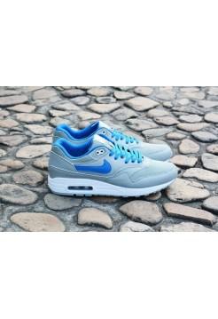 Кроссовки Nike Air Max 87 Серо-синие (А611)