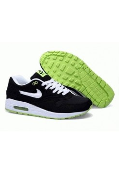 Кроссовки Nike Air Max 87 balck green (Е732)