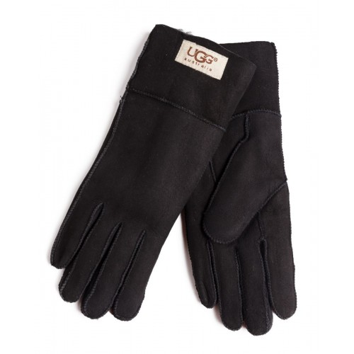 Перчатки UGG Sheepskin Black Gloves