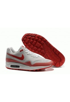 Кроссовки Nike Air Max 87 Hyperfuse Бело/красные (О-325)