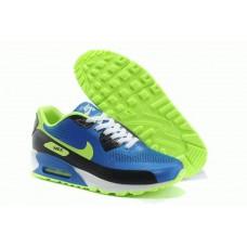 Кроссовки Nike Air Max 90 Hyperfuse  Синие (O-367)