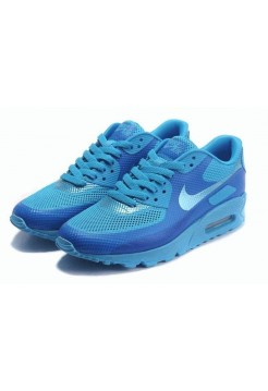 Кроссовки Nike Air Max 90 Hyperfuse Blue (OV-872)