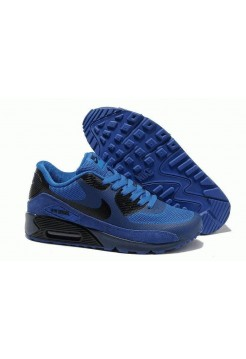 Кроссовки Nike Air Max 90 Hyperfuse Синие (О-751)
