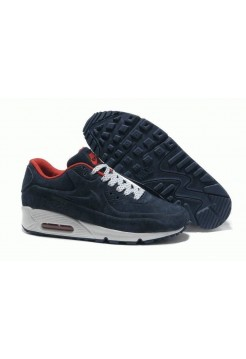 Кроссовки Nike Air Max 90 VT Tweed Blue/Wh/Red (MOЕА511)