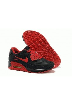 Кроссовки Nike Air Max 90 GL Black-Red (O722)