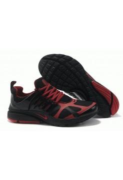 Кроссовки Nike Air Presto Черно/красные (О-342)