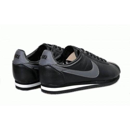 Кроссовки Nike Cortez Черные (О-246)