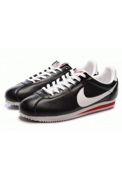 Кроссовки Nike Cortez Classic Черные (А832)