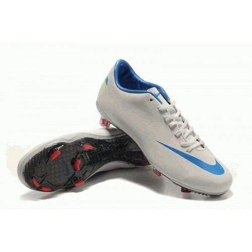 Nike Mercurial Vapor 8 FG White/Blue