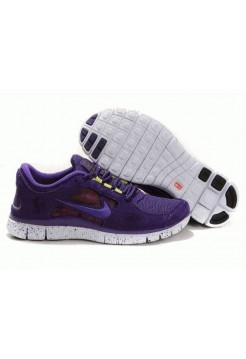 Кроссовки Nike Free Run Plus 3 2013 Фиолетовый (О-351)