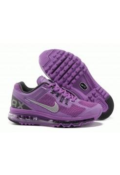 Кроссовки Nike Air Max 2013 Фиолетовый (О-214)