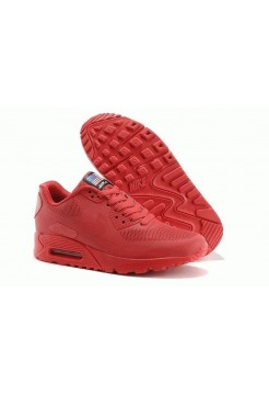 Nike Air Max 90 Hyperfuse Red USA (OV-527)