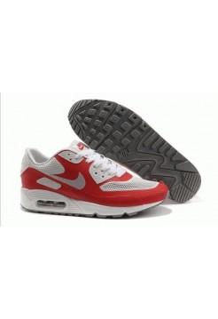 Nike Air Max 90 Hyperfuse Красно/серые (О-366)