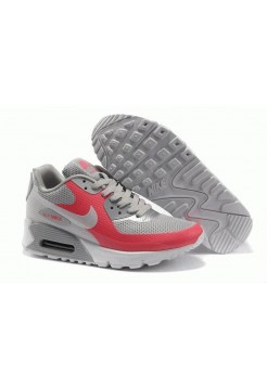 Nike Air Max 90 Hyperfuse Grey Pink (О-147)