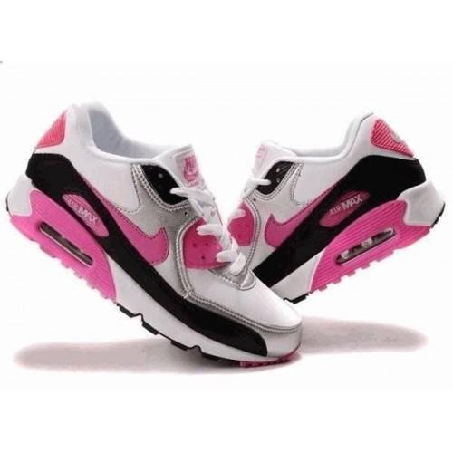 Кроссовки Nike Air Max 90 Белые (О-553)