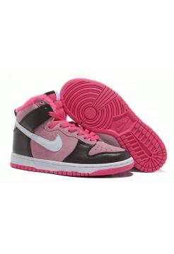 Кроссовки Nike Dunk High с мехом 06W