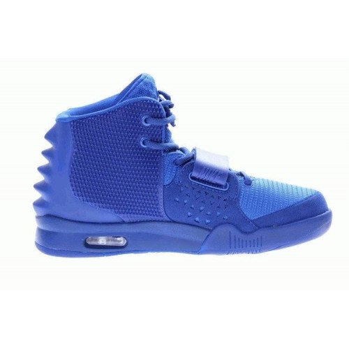 Кроссовки Nike Air Yeezy 2 All Blue (О-145)
