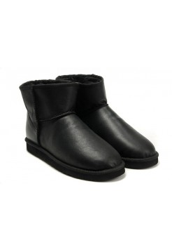 UGG Classic Mini Leather Black (НРМSЕVА248)