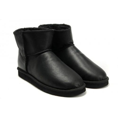 UGG Classic Mini Leather Black