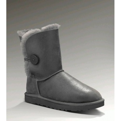 UGG Bailey Button Bomber серые