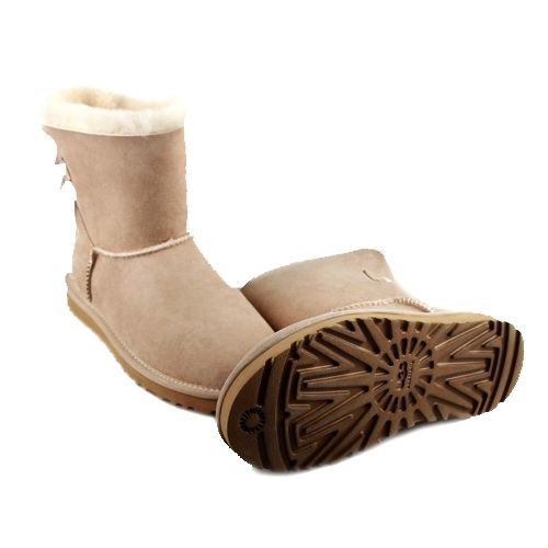 UGG Mini Bailey Bow Sand