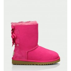 Ugg Kids Bailey Bow Cerise