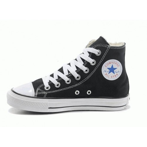Кеды Converse Chuck Taylor All Stars High Черно-белые на молнии