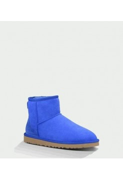 UGG WOMENS CLASSIC MINI ELECTRIC BLUE