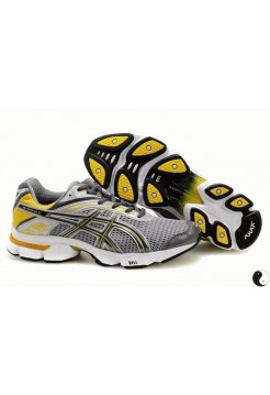 Кроссовки Asics Gel Stratus Grey-Yellow